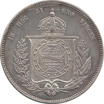 Brasil 2000 Reis 1855