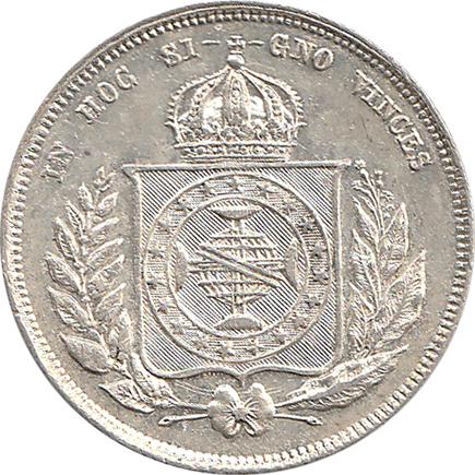 Brasil 200 Reis 1862