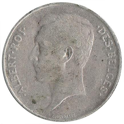 Bélgica1 Francos de 1914
