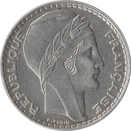 França 20 Francos 1938