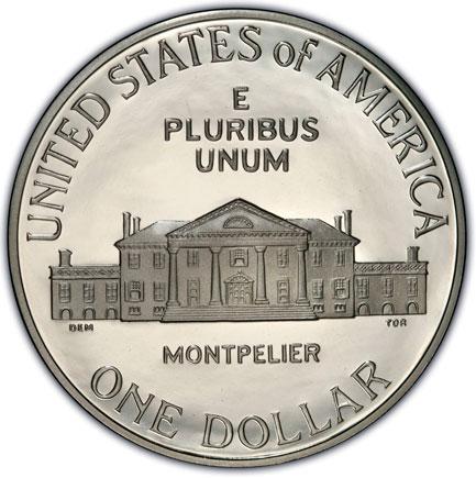 EUA Dolar 1993 - S - James Madison