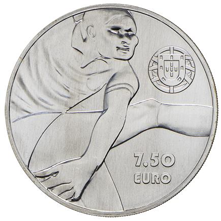 Portugal 7,50€ Eusébio em Prata 2016