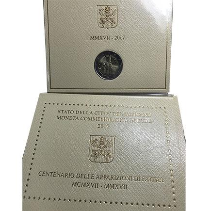 Vaticano 2€ 100 Anos das Aparições em Fátima 2017