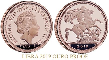 Inglaterra Libra 2019 Proof