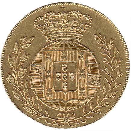 D. João VI Peça (6.400 Réis) de 1822