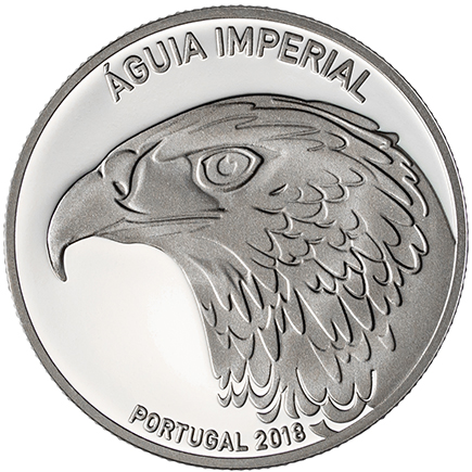 Portugal 5€ Águia Imperial 2018 Proof