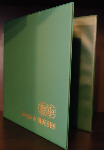 Álbum A4 Verde