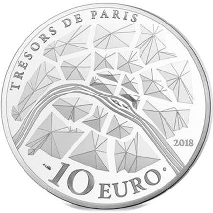 França 10€ Alexander IIII Bridge 2018