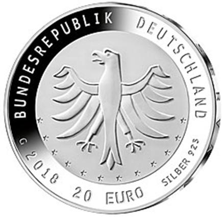 Alemanha 20€ 275 Anos Orquestra de WanderHouse 2018