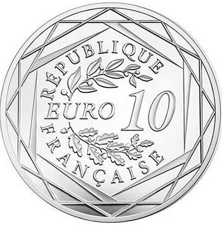 França 10€ Armistice & Cornflower 2018