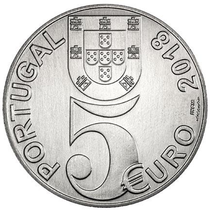 Portugal 5€ 100 Anos do Armistício 2018