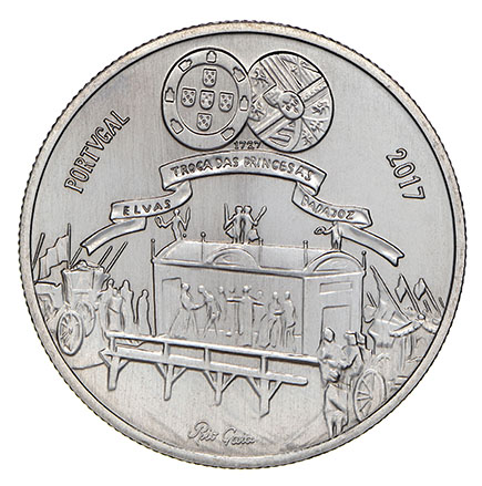 Portugal 5€ Maria Bárbara 2017
