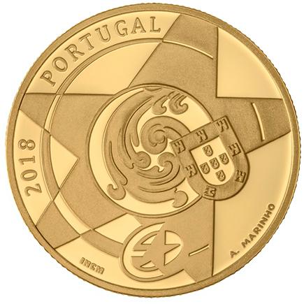 Portugal 5€ O Barroco Ouro 2018