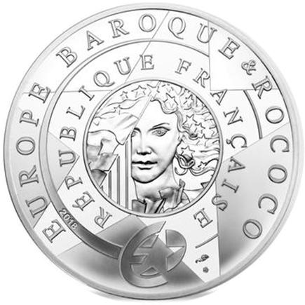 França 10€ Barroco e Rococo 2018