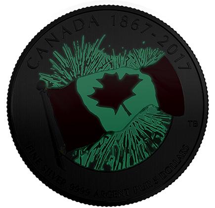 Canadá $3 Orgulho Canadiano 2017