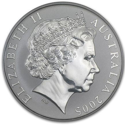 Austrália 1 Dollar Kangaroo 1oz 2005