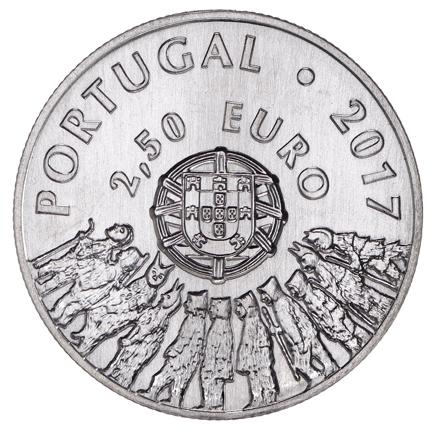 Portugal 2,5€ Caretos de Trás-os-Montes 2017