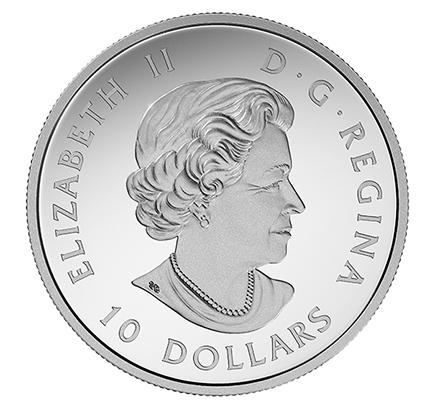 Canadá $10 Castor 2017