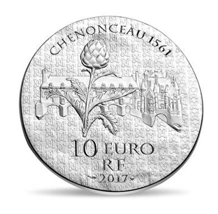 França 10€ Catarina de Médicis 2017