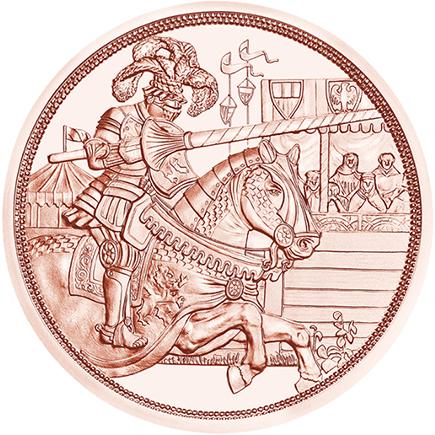 Áustrai 10€ Cavalaria 2019