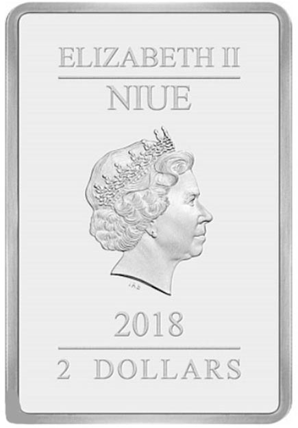 Niue 2 Dollars Season Gretetings 1oz Disney 2018