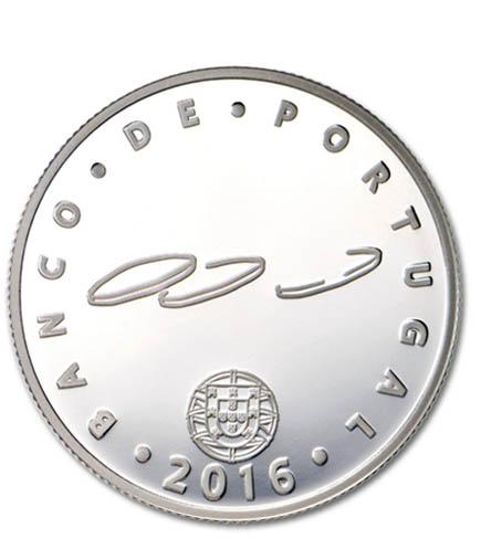 Portugal 2,50€ Museu do Dinheiro Prata Proof 2016