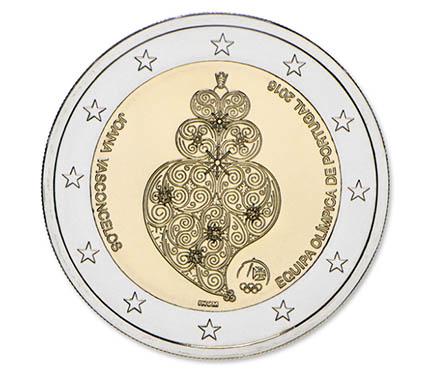 Portugal 2€ Equípa Olímpica 2016 BNC