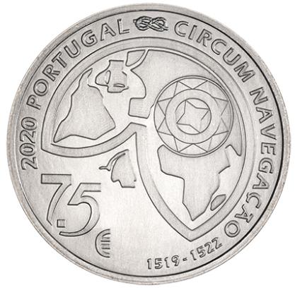Portugal 7,5€ Fernão Magalhães (Estreito) Corrente 2020