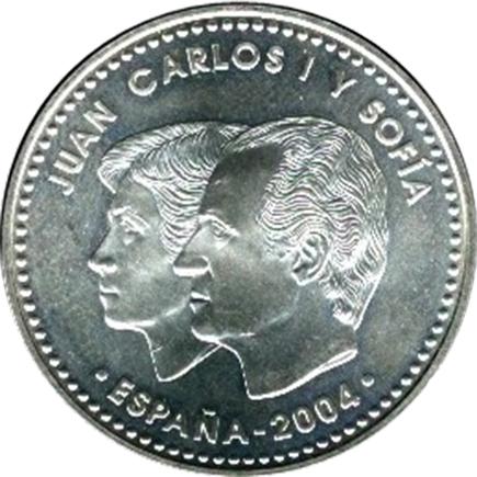 Espanha 12€ 2004 - Casamento de Filipe e Leticia