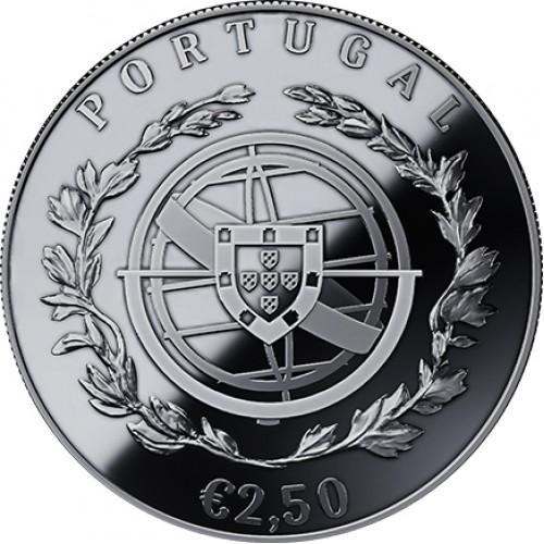 Portugal 2,5€ 100 Anos das Aparições de Fátima 2017