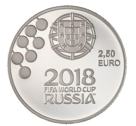 Portugal 2,50€ Campeonato do Mundo de Futebol Rússia 2018
