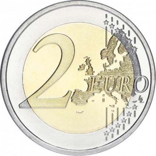 Grécia 2€ 75 anos da Morte de Spiridon Louis 2015