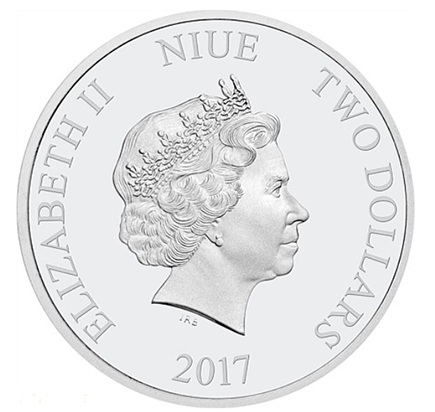 Niue 2$ Mickey's Christmas Carol (1oz) 2017
