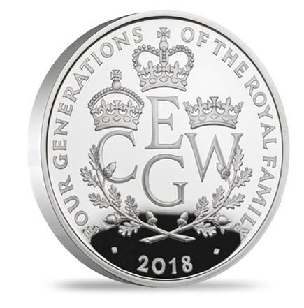 Inglaterra 5 Pounds As 4 Gerações 2018