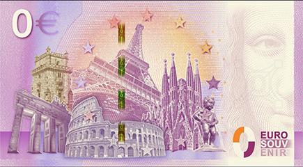 Nota 0€ Roma - Fontana Trevi 2019-1
