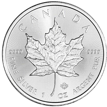 Canadá 5 Dollars Maple Leaf 2019 - 1oz