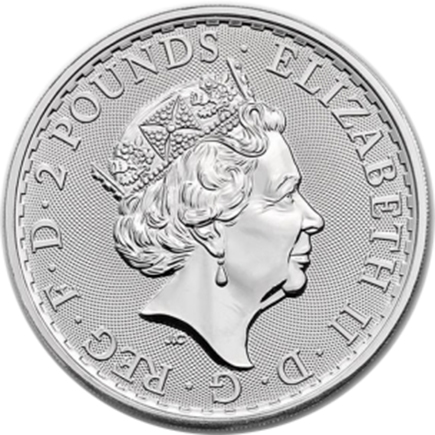 Britânia 2 Pounds 2019 - 1oz