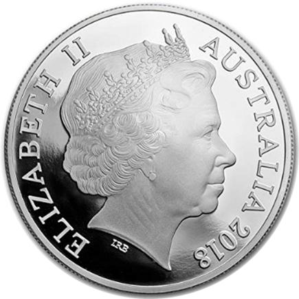 Austrália 1 Dollar Kangaroo 2018