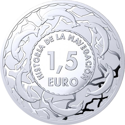 Espanha 4x 1,5€ História da Navegação 2019