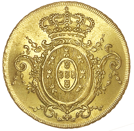 D. João Principe Regente Peça 1808 Rio de Janeiro
