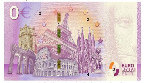 Nota 0€ Usa - San Francisco Golden Gate Bridge 2019-1