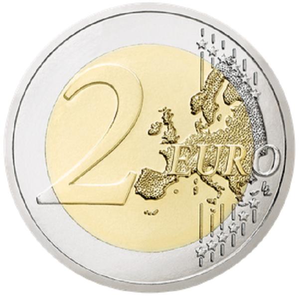 Luxemburgo 2€ 100 Anos Nascimento Grão-Duque Jean 2021