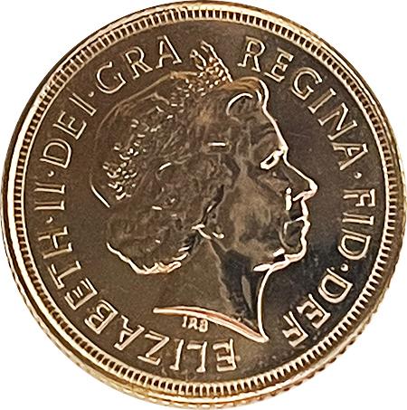 UK 1/2 Libra Elisabeth II 2001