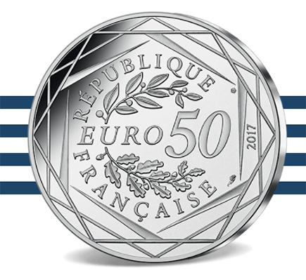 França 50€ Jean Paul Gaultier 2017