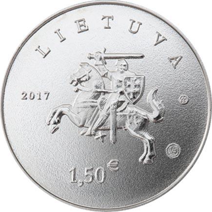 Lituânia 1,5€ Cavalo e Cão 2017