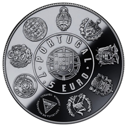 Portugal 7,5€ Madeira Prata 2017
