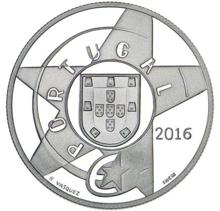 Portugal 5€ O Modernismo Prata Proof 2016
