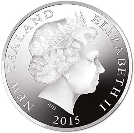 New Zealand 1 Dolar 2015
