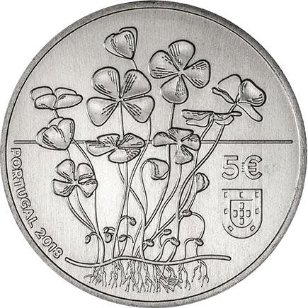 Portugal 5€ O Trevo 2018