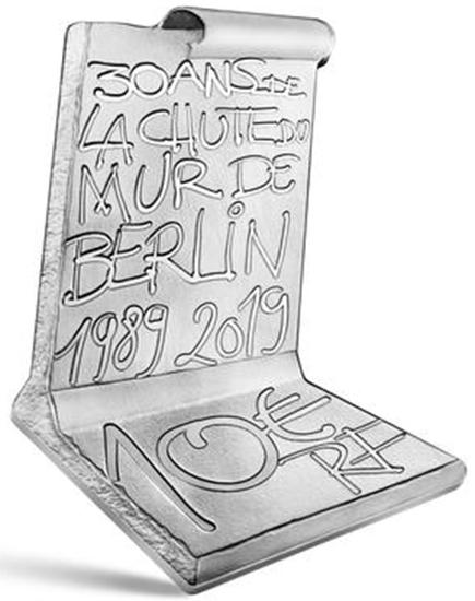 França 10€ 30 Anos da Queda do Muro de Berlim 2019